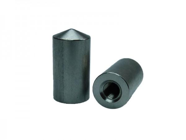ID Ø10x25/ M6x9, DIN EN ISO 13918 - 1.4301 ohne Alukugel